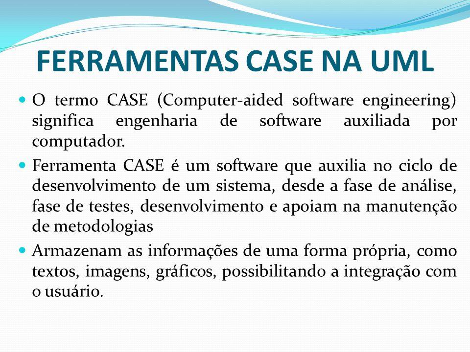 FERRAMENTAS CASE NA UML
