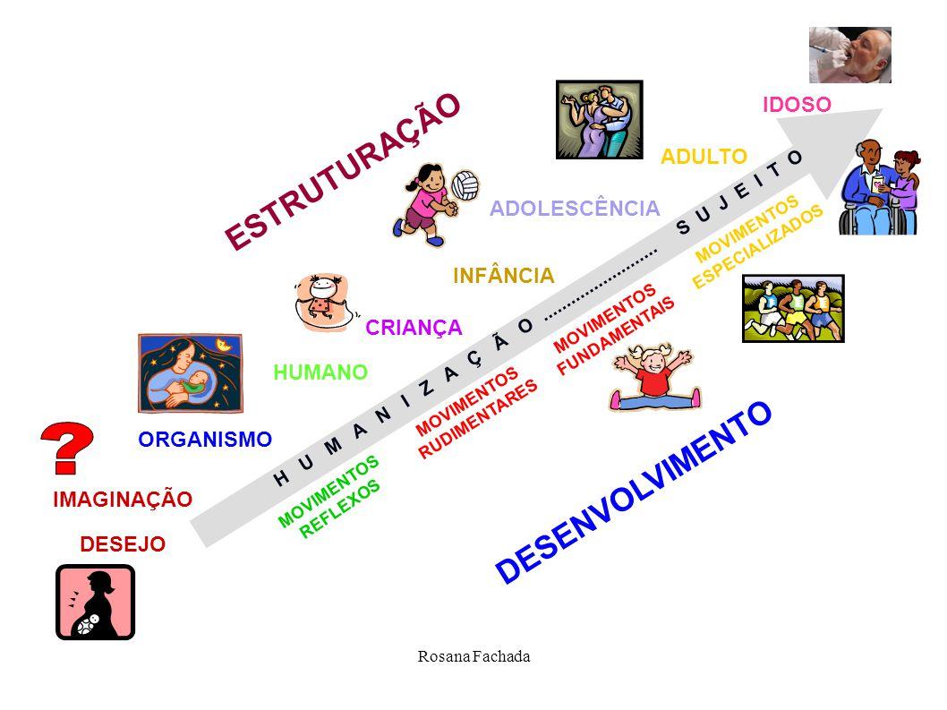 ESTRUTURAÇÃO DESENVOLVIMENTO IDOSO ADULTO ADOLESCÊNCIA INFÂNCIA