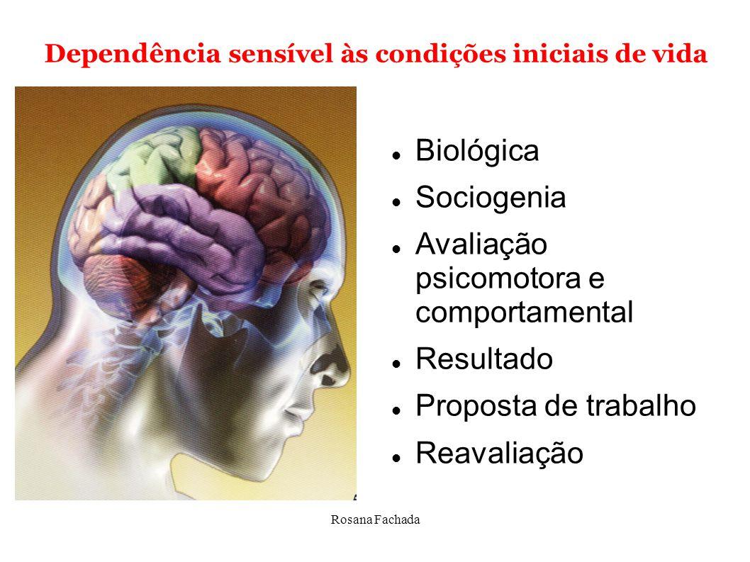 Avaliação psicomotora e comportamental