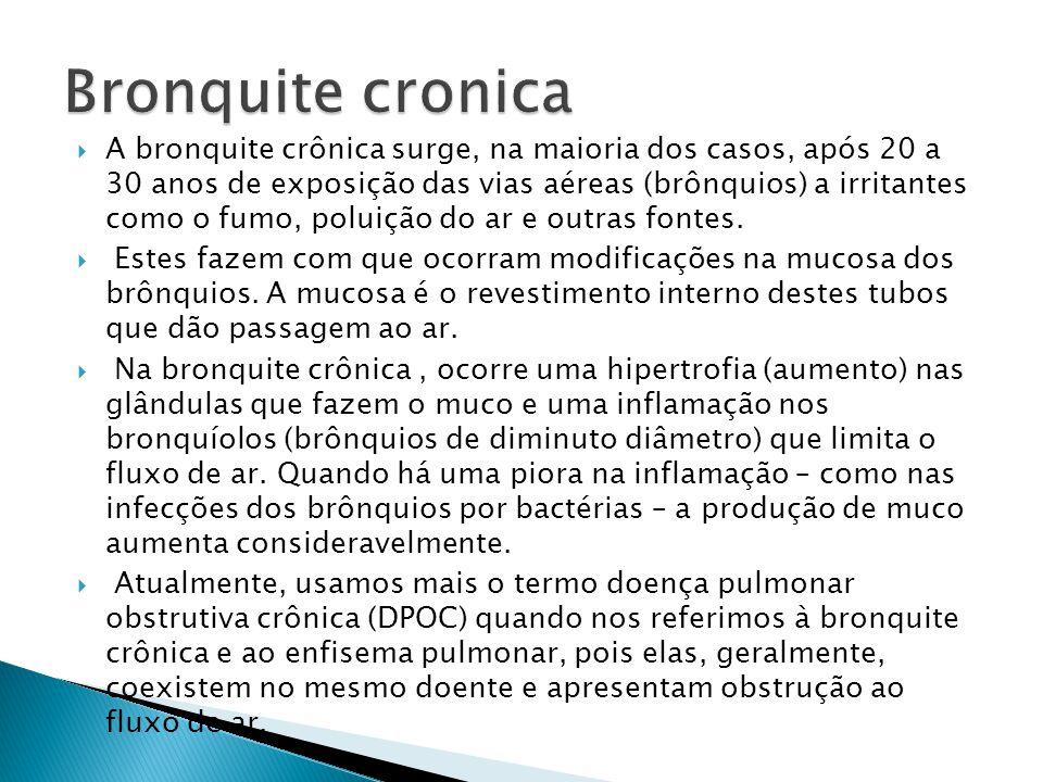 Bronquite cronica