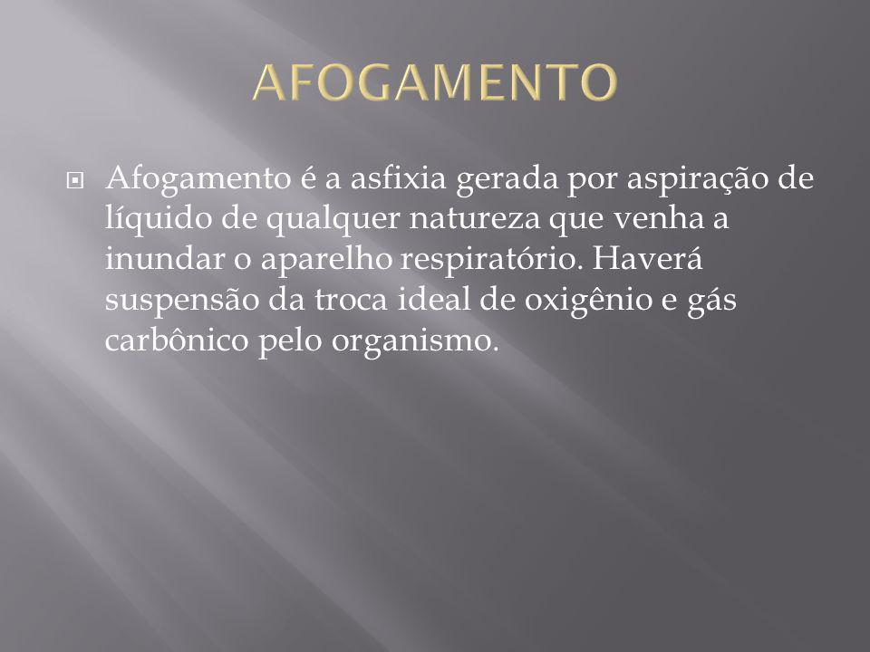 AFOGAMENTO
