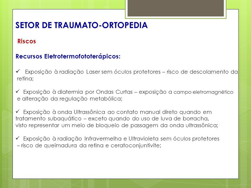 SETOR DE TRAUMATO-ORTOPEDIA
