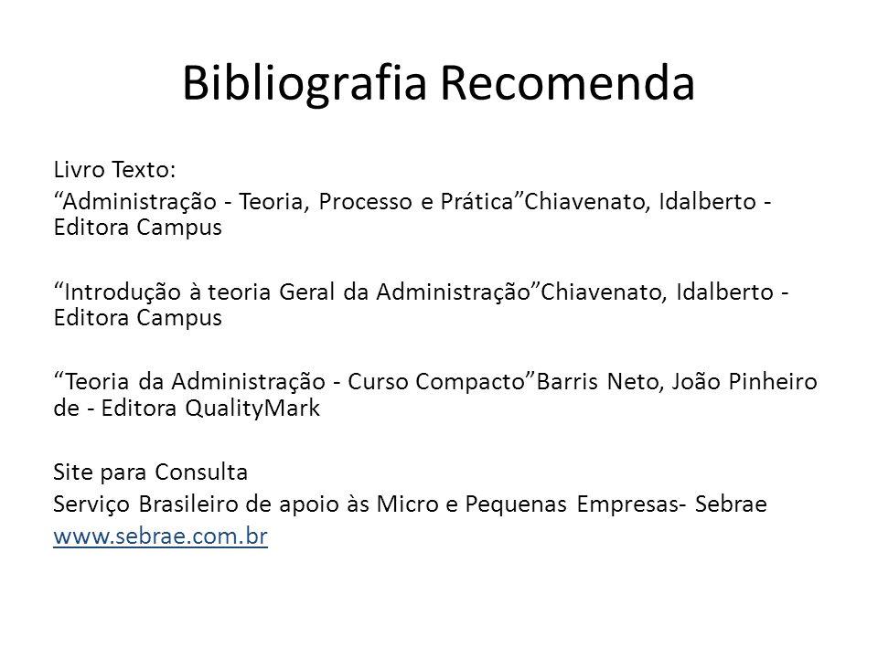 Bibliografia Recomenda