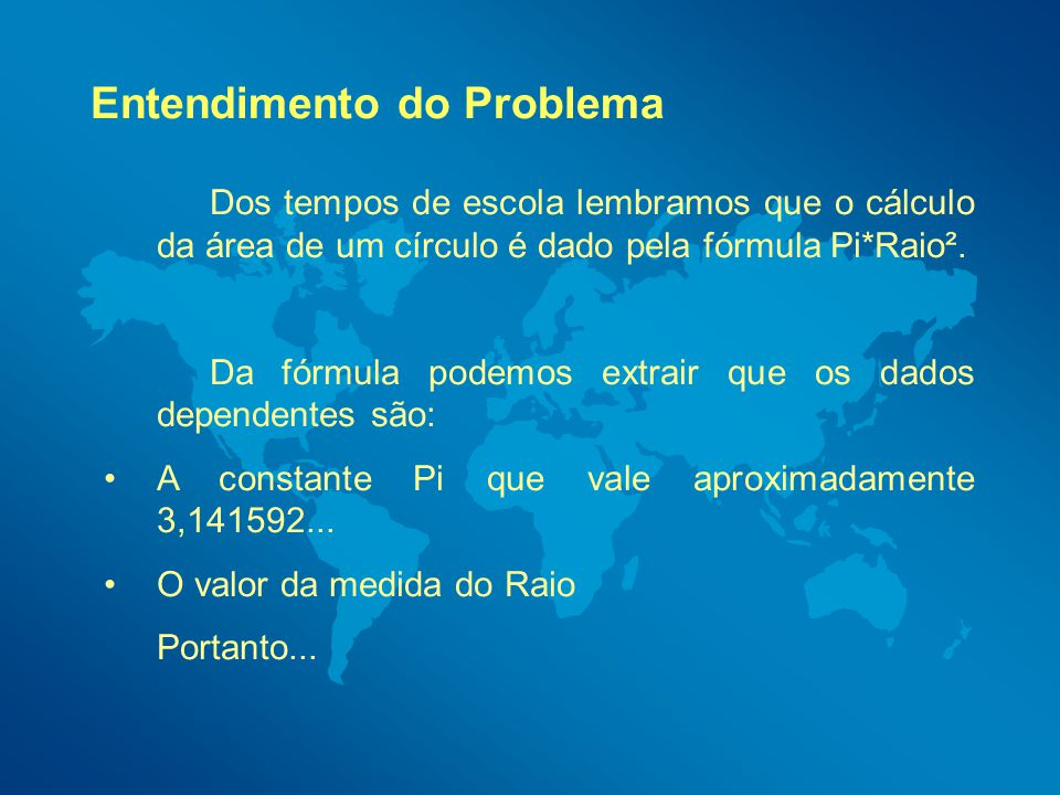 Entendimento do Problema