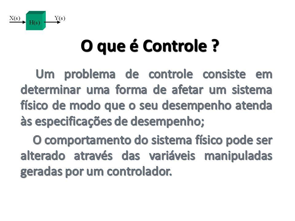 O que é Controle