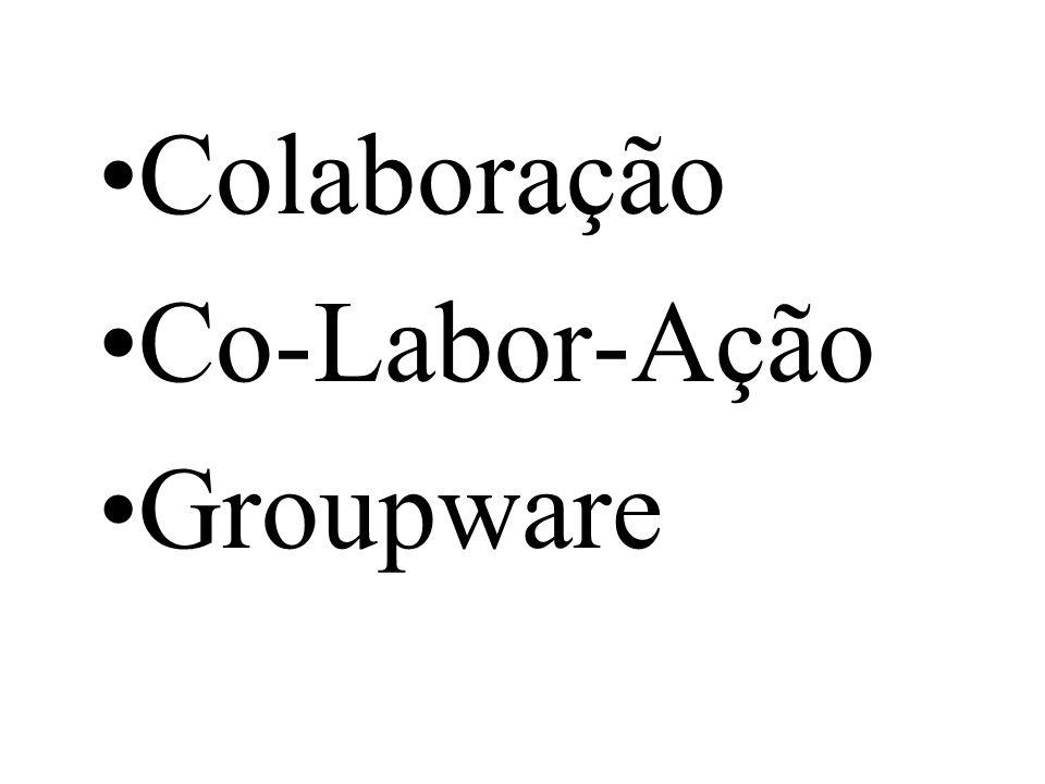 Colaboração Co-Labor-Ação Groupware