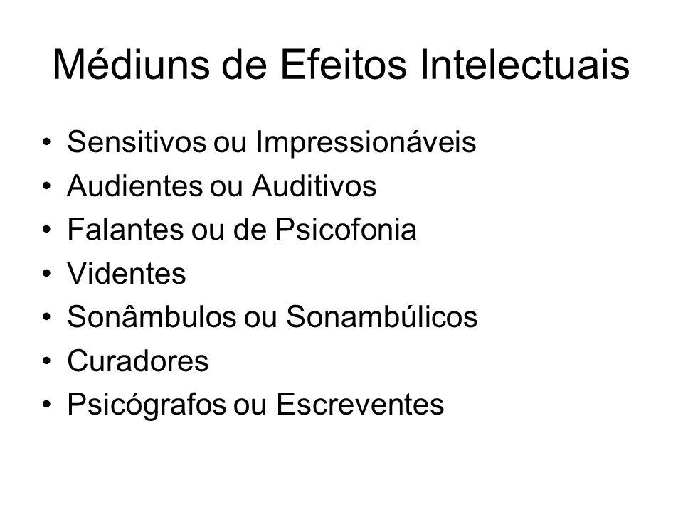 Médiuns de Efeitos Intelectuais