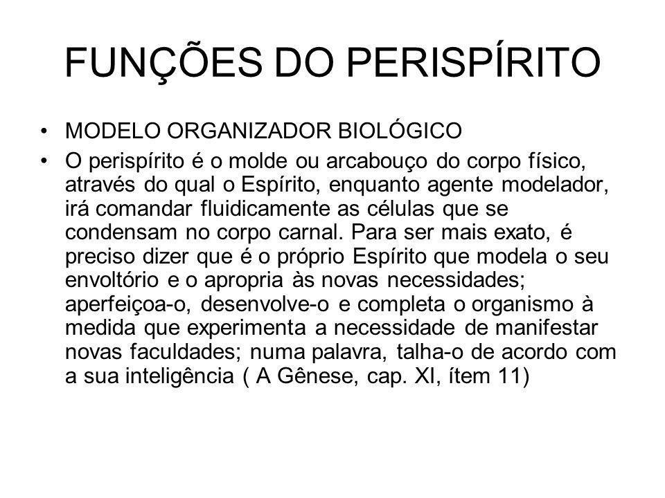 FUNÇÕES DO PERISPÍRITO