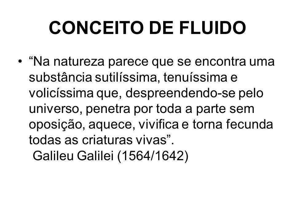 CONCEITO DE FLUIDO