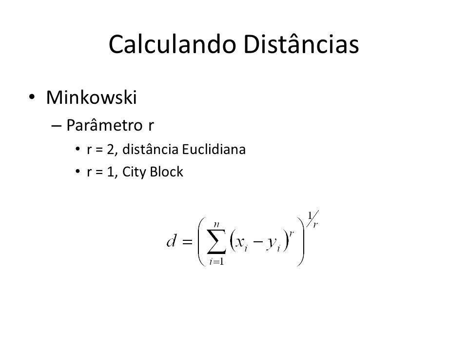 Calculando Distâncias