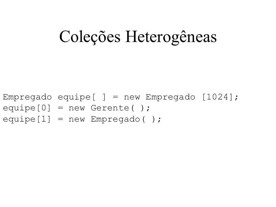 Coleções Heterogêneas