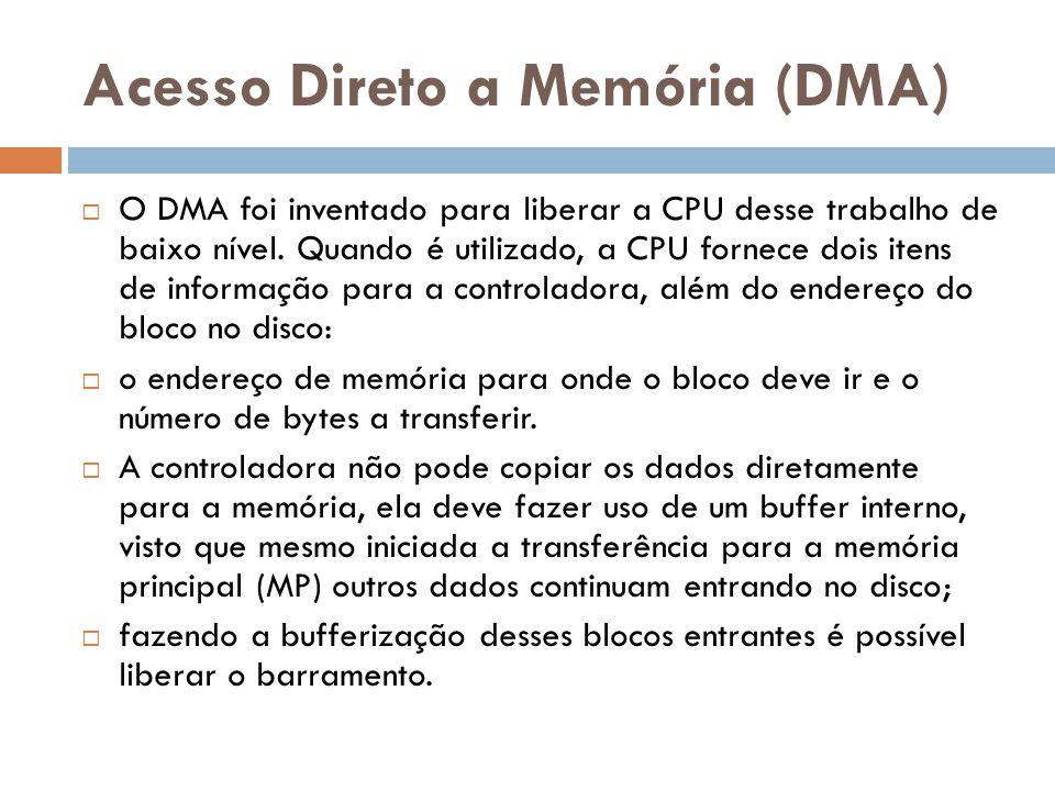 Acesso Direto a Memória (DMA)