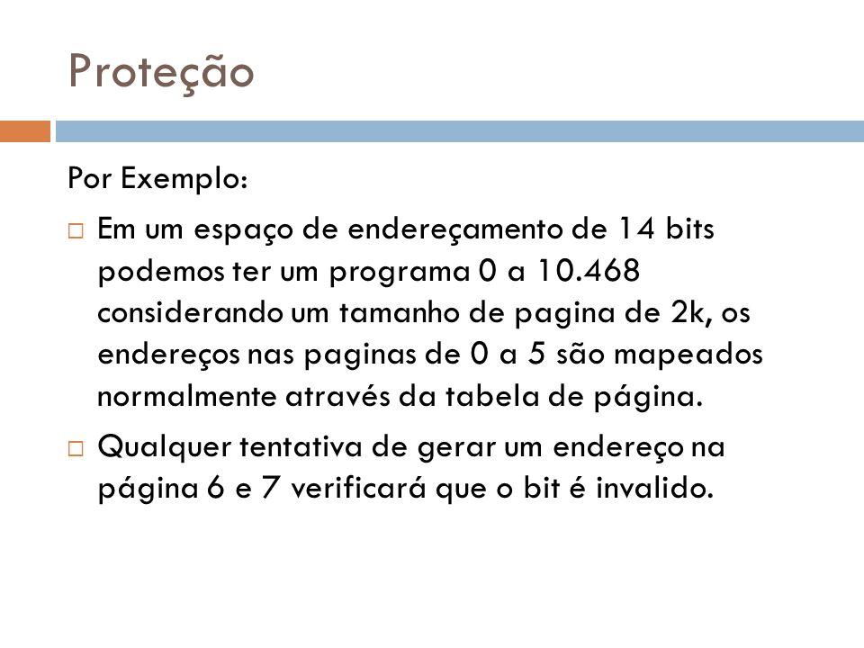 Proteção Por Exemplo: