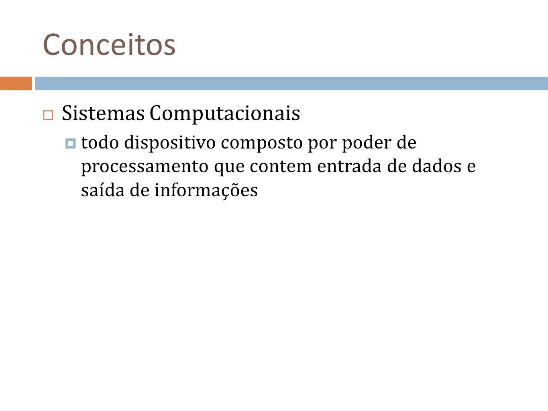 Conceitos Sistemas Computacionais