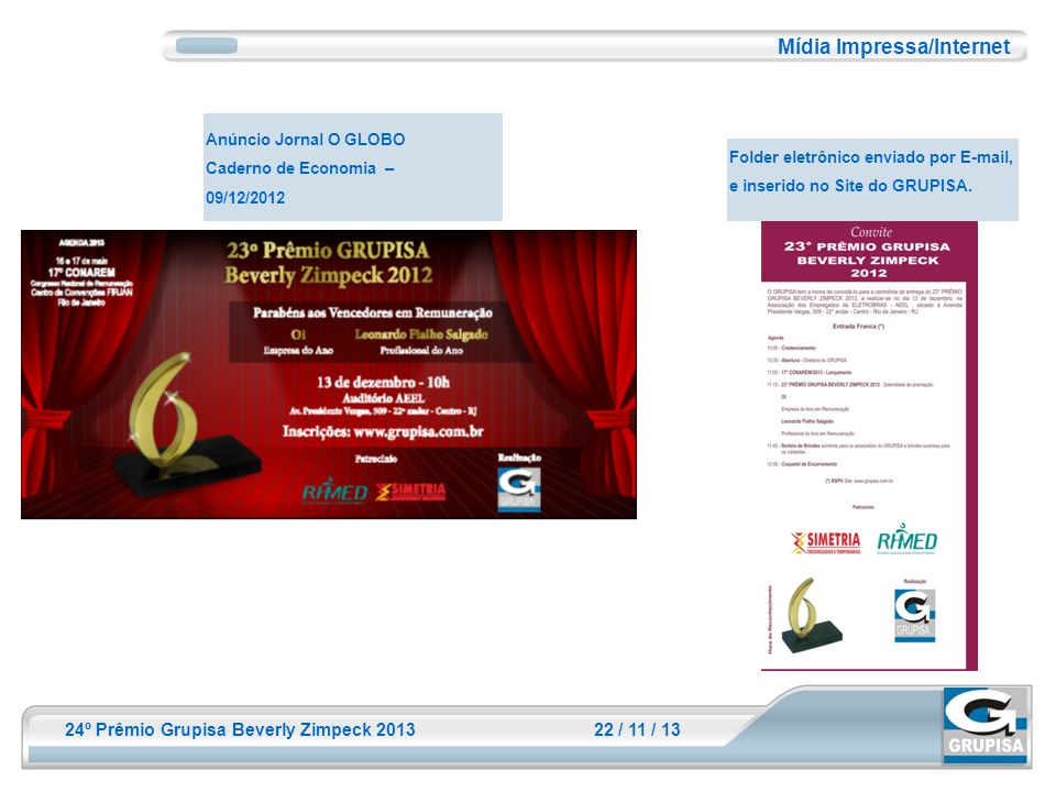 Mídia Impressa/Internet