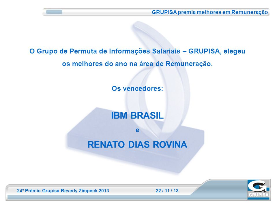 IBM BRASIL RENATO DIAS ROVINA