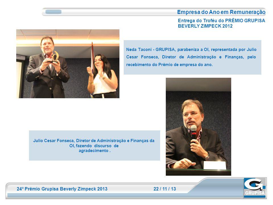 Julio Cesar Fonseca, Diretor de Administração e Finanças da