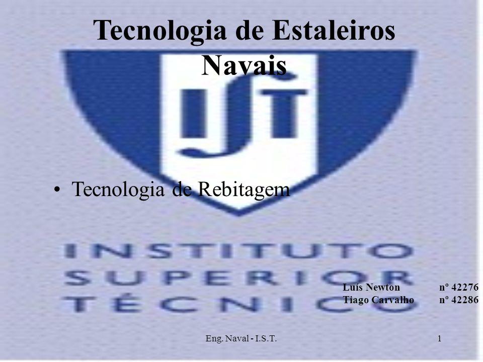 Tecnologia de Estaleiros Navais