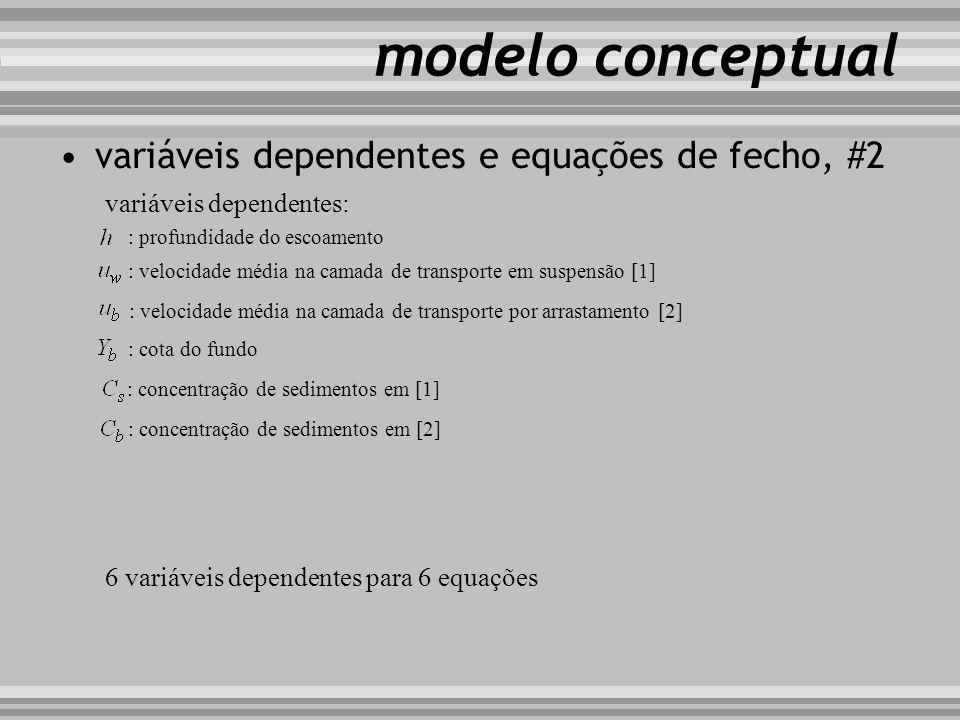 modelo conceptual variáveis dependentes e equações de fecho, #2
