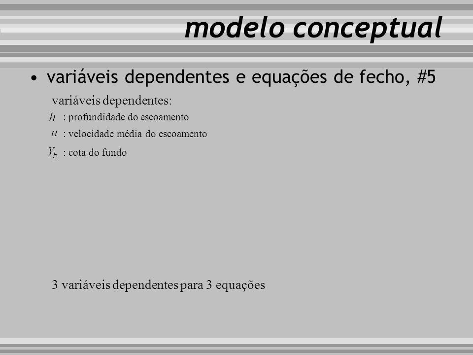 modelo conceptual variáveis dependentes e equações de fecho, #5