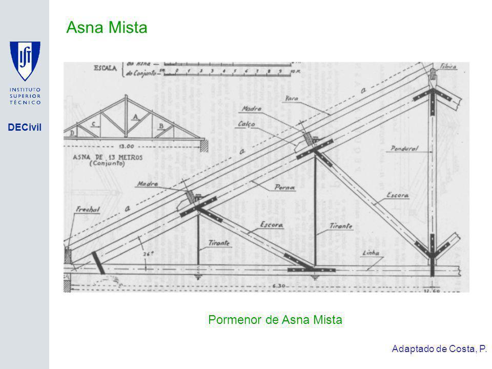 Asna Mista Pormenor de Asna Mista Adaptado de Costa, P.