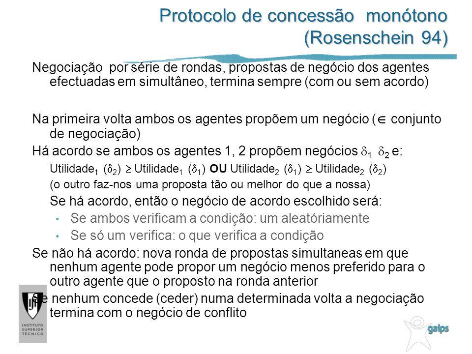 Protocolo de concessão monótono (Rosenschein 94)