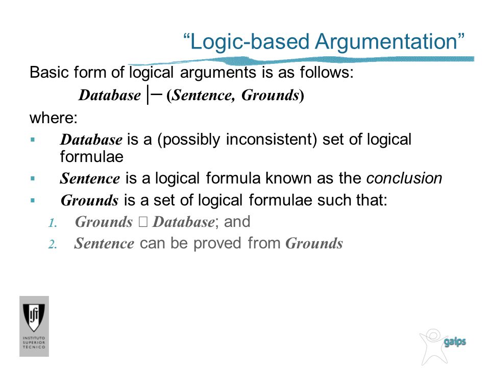 Logic-based Argumentation