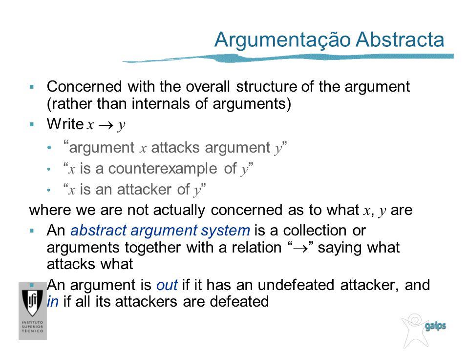Argumentação Abstracta