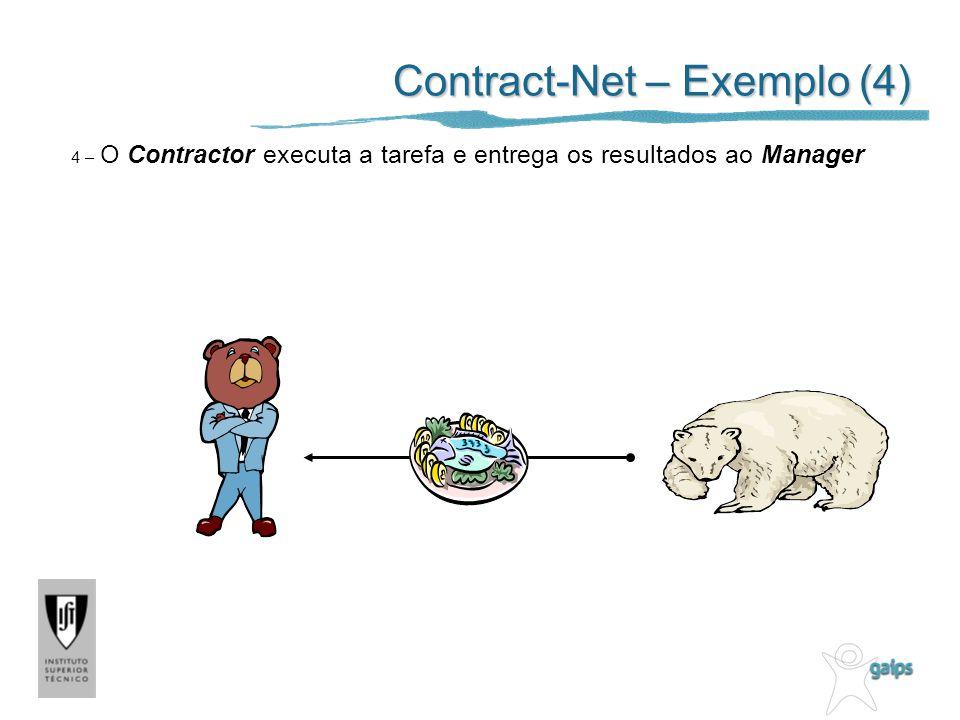 Contract-Net – Exemplo (4)