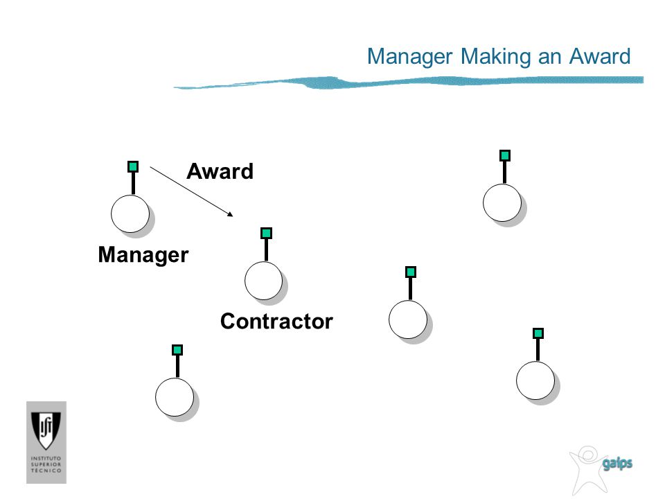 Manager Making an Award