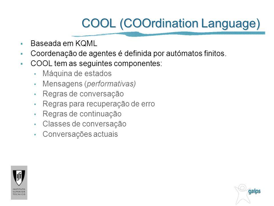 COOL (COOrdination Language)