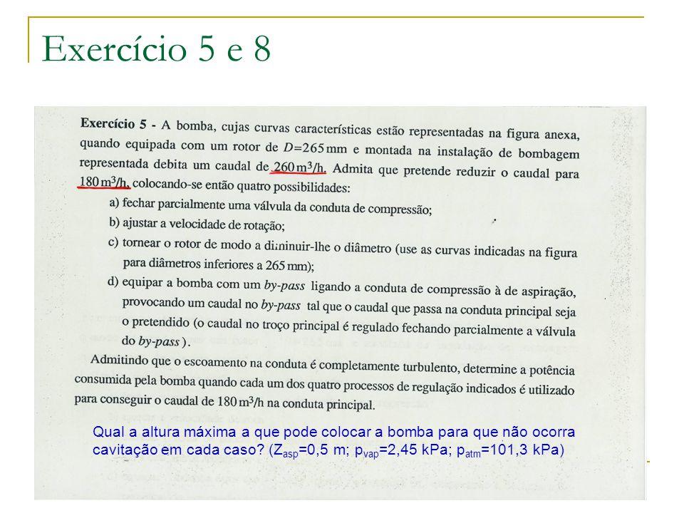 Exercício 5 e 8