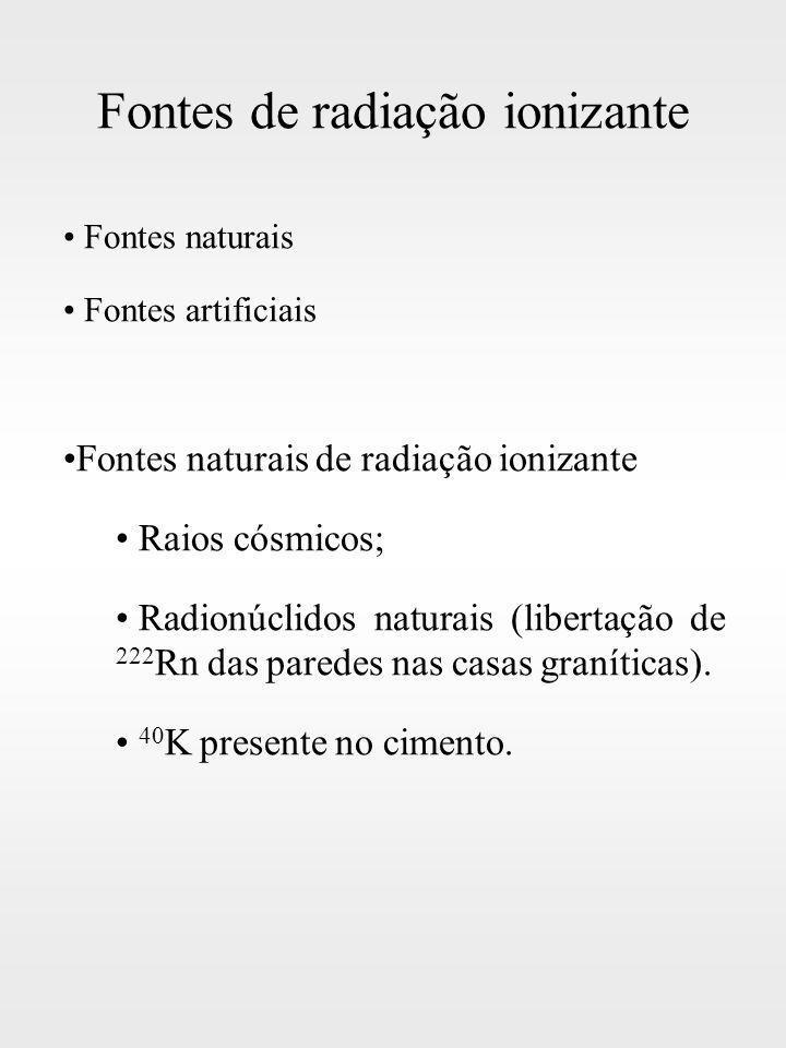 Fontes de radiação ionizante