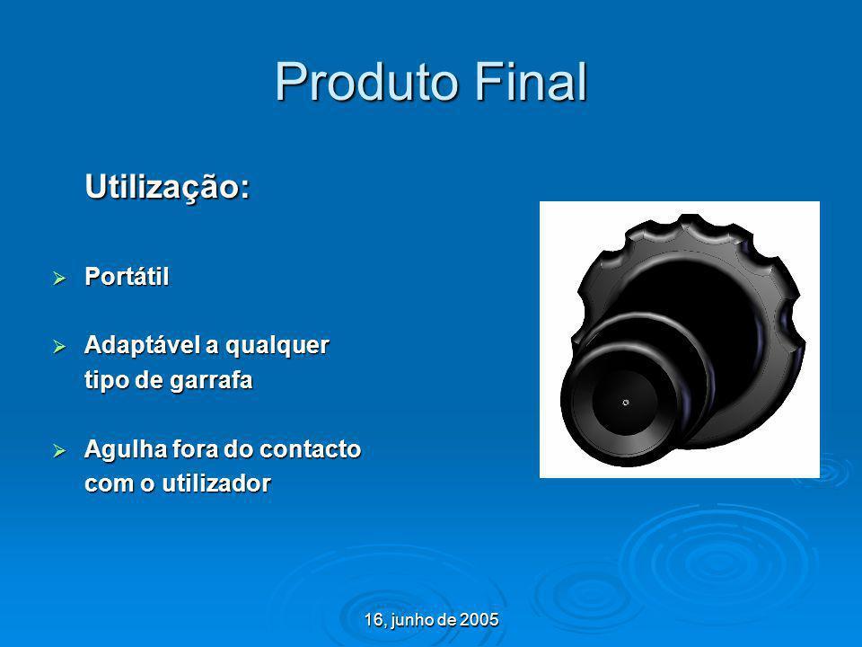Produto Final Utilização: Portátil Adaptável a qualquer