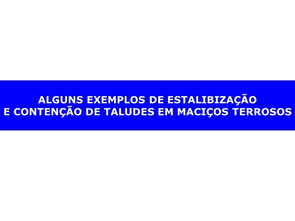 ALGUNS EXEMPLOS DE ESTALIBIZAÇÃO