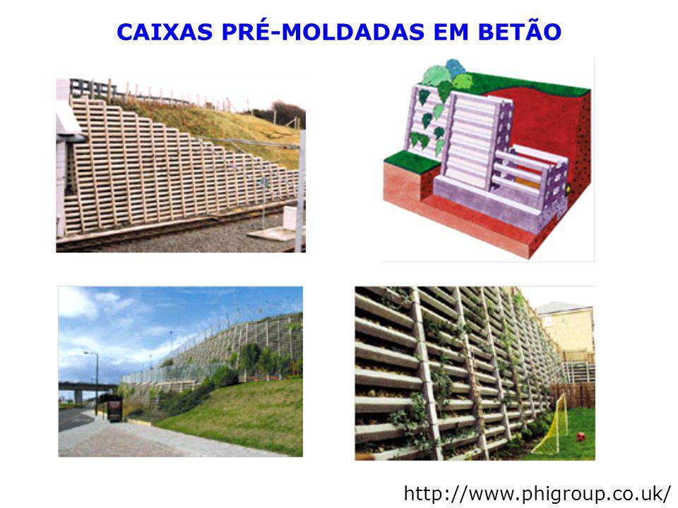 CAIXAS PRÉ-MOLDADAS EM BETÃO