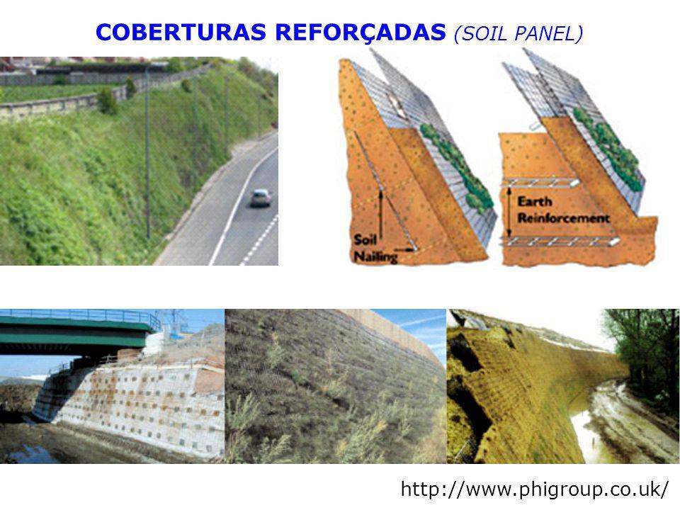 COBERTURAS REFORÇADAS (SOIL PANEL)