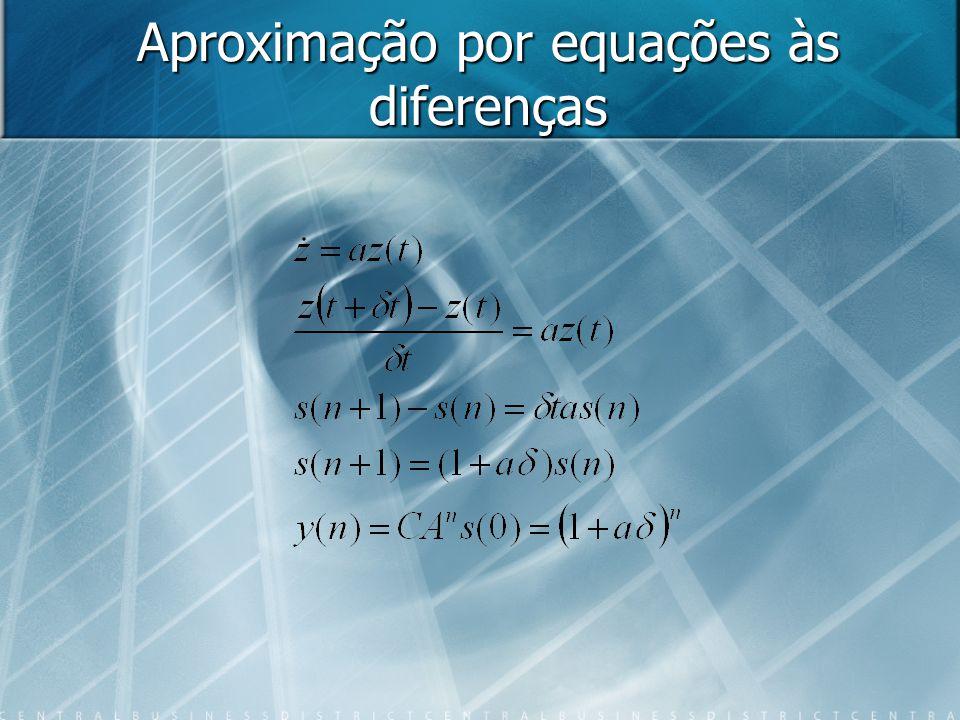 Aproximação por equações às diferenças