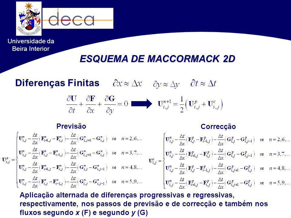 ESQUEMA DE MACCORMACK 2D