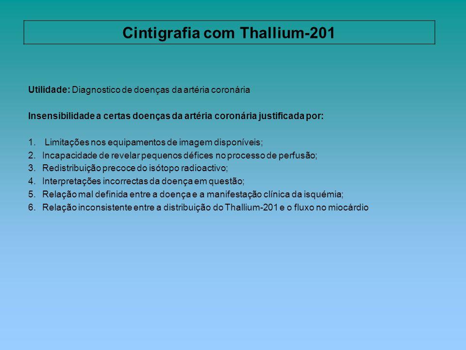 Cintigrafia com Thallium-201