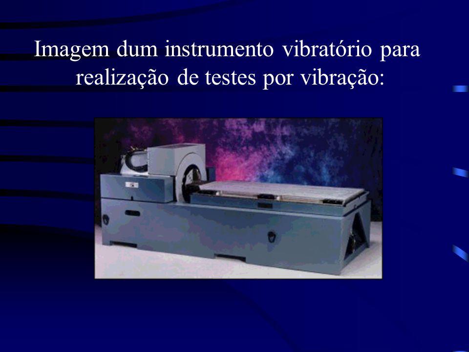 Imagem dum instrumento vibratório para