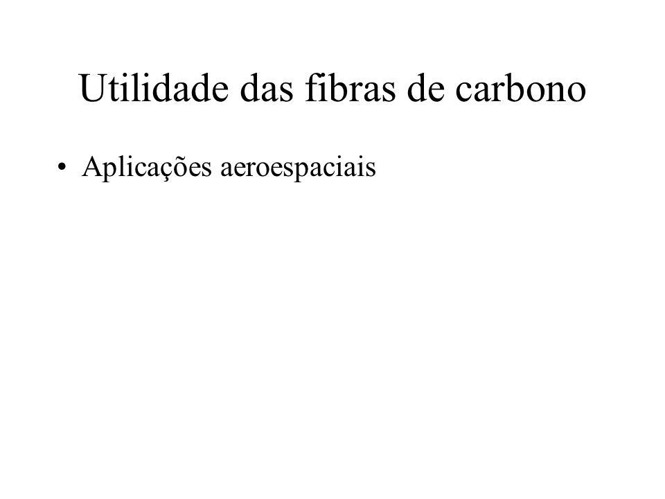 Utilidade das fibras de carbono