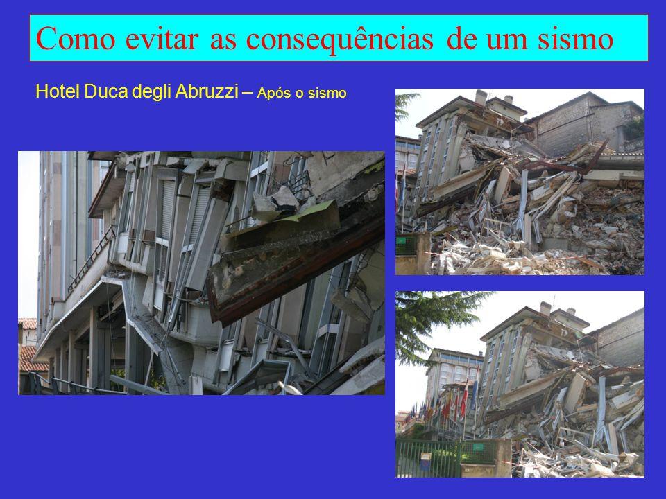Hotel Duca degli Abruzzi – Após o sismo