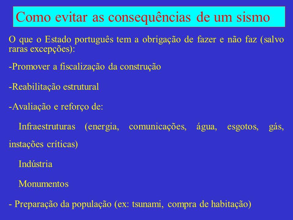 O que o Estado português tem a obrigação de fazer e não faz (salvo raras excepções):