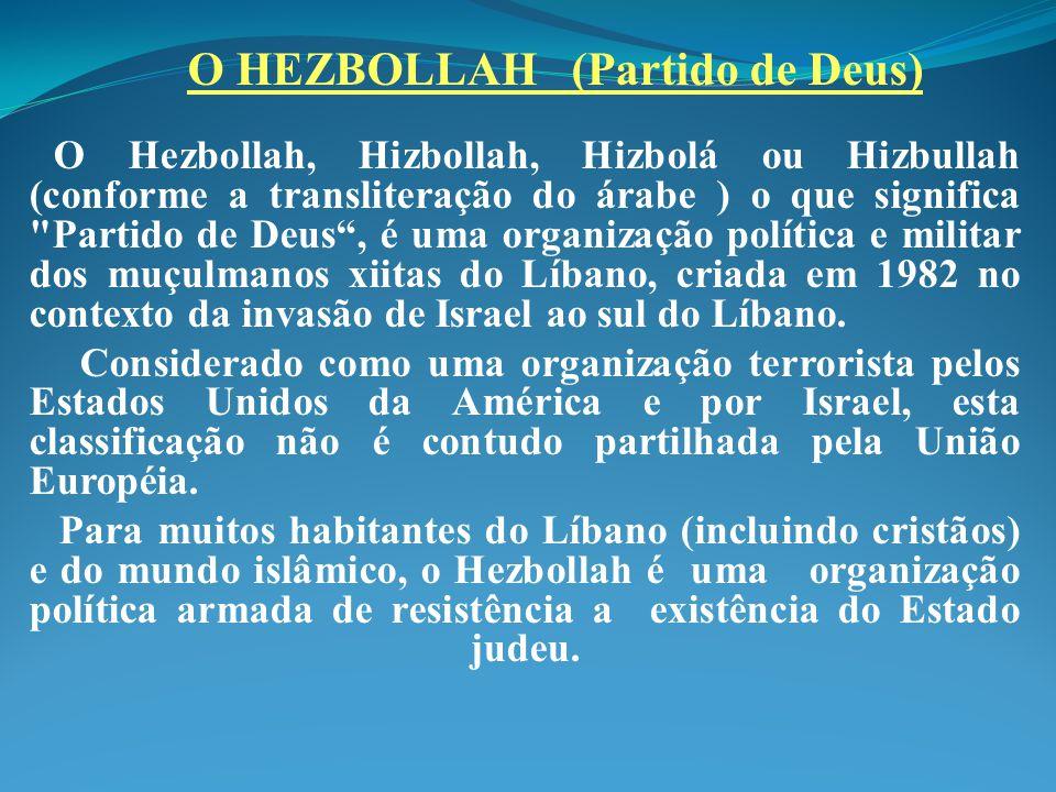 O HEZBOLLAH (Partido de Deus)