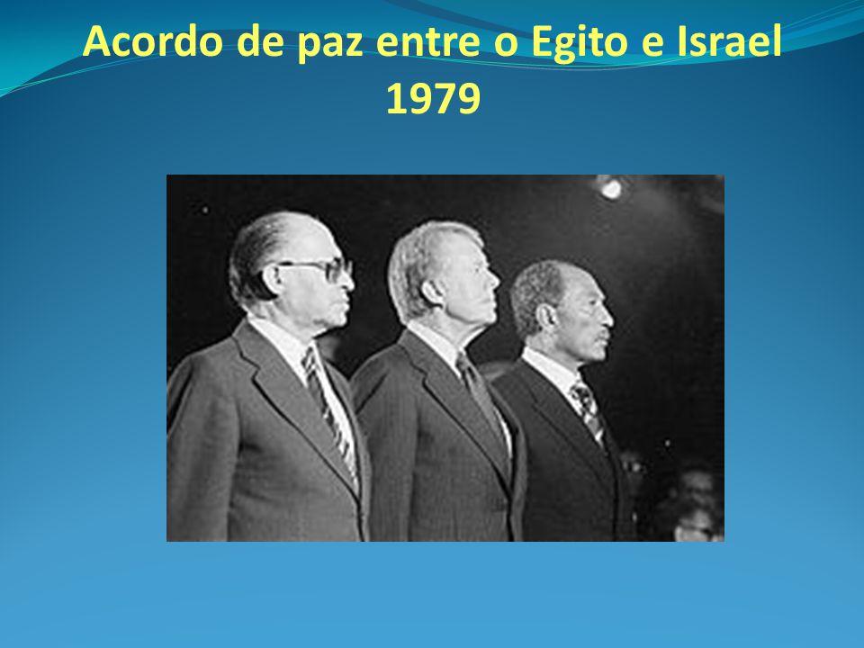 Acordo de paz entre o Egito e Israel 1979