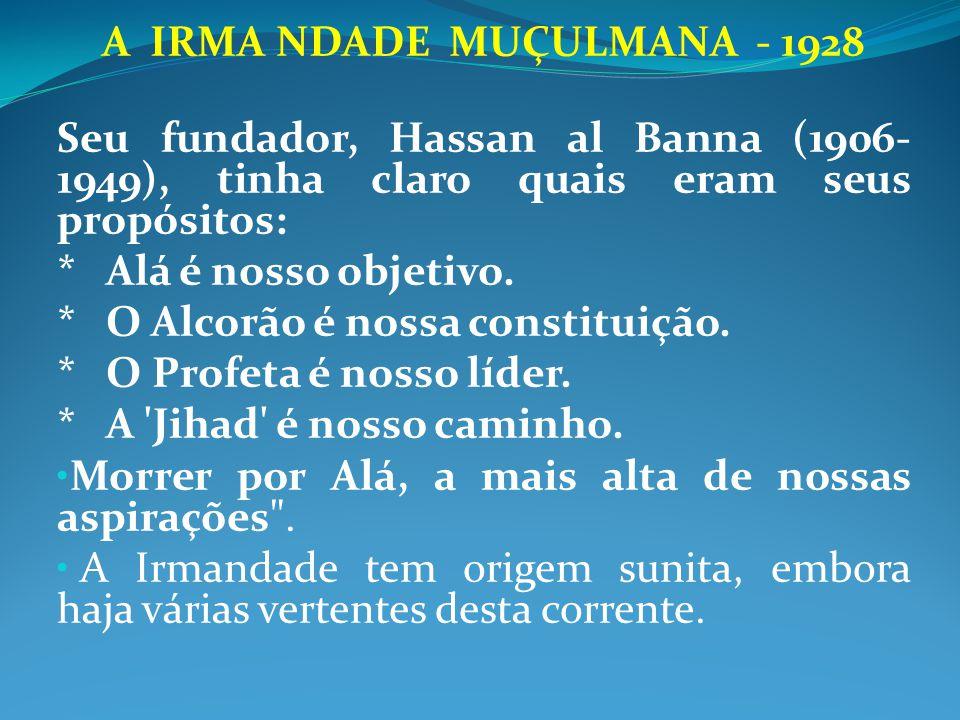 A IRMA NDADE MUÇULMANA - 1928
