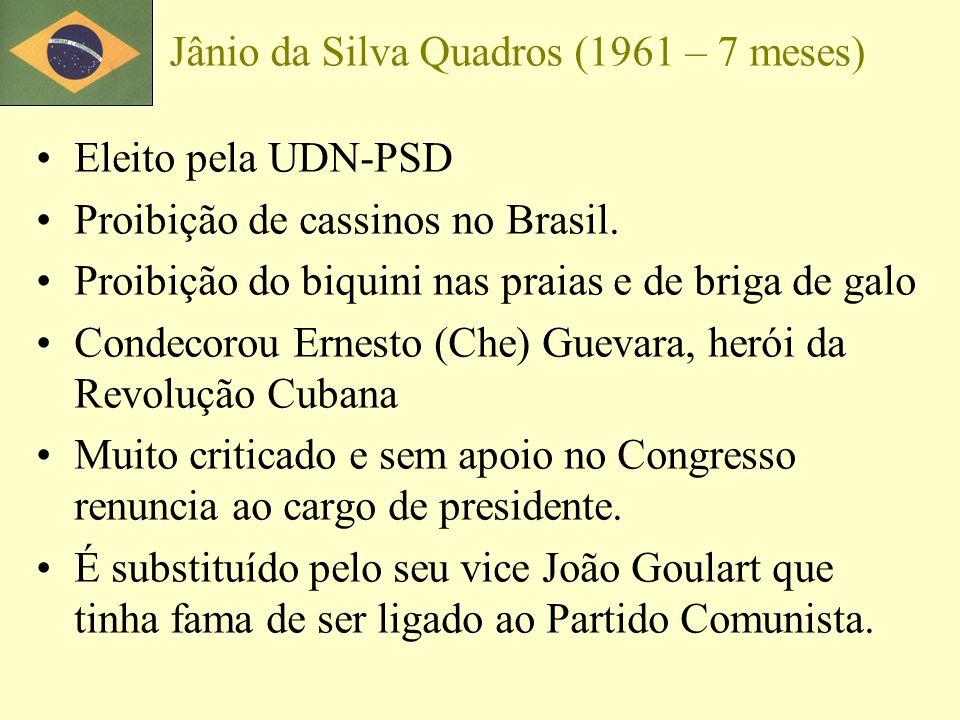 Jânio da Silva Quadros (1961 – 7 meses)