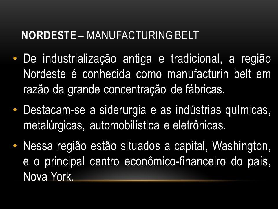 Nordeste – Manufacturing Belt