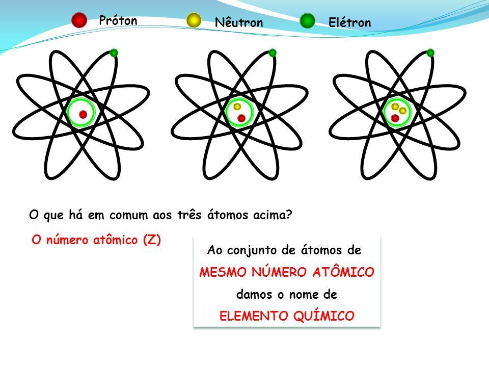 Ao conjunto de átomos de
